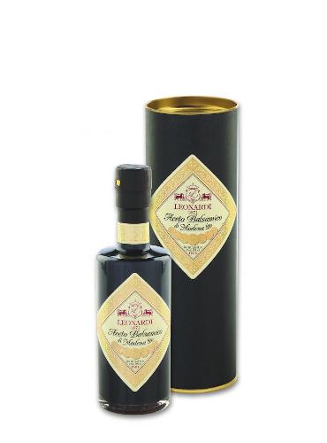Aceto Balsamico di Modena IGP Capsula Nera Astuccio - Leonardi