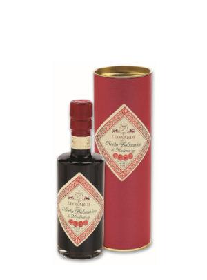 Aceto Balsamico di Modena IGP Capsula Rossa Astuccio - Leonardi
