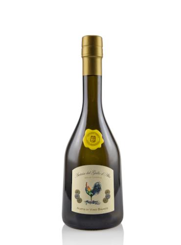 Aceto di Vino Bianco Metodo Lento 7.5° - Acetaia del Gallo d'Alba