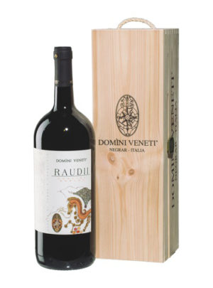 Raudii Corvina Merlot 1.5 (cofanetto legno) - Domini Veneti
